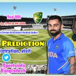India Vs Australia, 2nd ODI