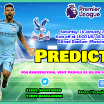 Manchester City vs Crystal Palace || England – Premier League
