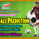 AC Milan vs Torino || Italy – Serie A || 17 February 2020 ||