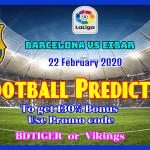 Barcelona vs Eibar || Spain – LaLiga || 22 February 2020 ||
