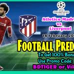 Atletico Madrid vs Liverpool || Champions League| 18 February 2020 ||