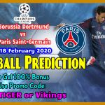 Borussia Dortmund vs PSG || Champions League || 18 February 2020 ||