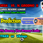 Football Prediction: Shakhtyor Salihorsk II  VS   Neman Grodno II