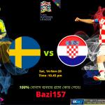 সুইডেন বনাম ক্রোয়েশিয়া উয়েফা আন্তর্জাতিক লীগে- 2020/2021